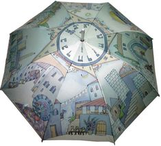 Hey, I found this really awesome Etsy listing at https://www.etsy.com/listing/177573921/hand-painted-artists-umbrella-jerusalem