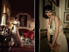 Stardust...(Vogue US June 2013, images via FGR)