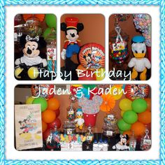 Mickey Mouse & Friends Candy Buffet Mickey Mouse And Friends, Minnie Mouse, Chocolate Centerpieces, Candy Buffet, Jade, Instagram Posts, Candy Stations, Candy Boxes, Candy Bars
