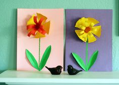 Spring is coming! Whether your yard is already blooming (like ours here in California), or you're still waiting for the snow to melt, it's definitely time to brighten up the indoors with some springtime crafts. Yay! Our first official crafts... Continue Reading →