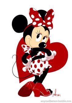 The Disney Minnie pin up star