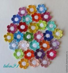 Crochetpedia: ganchillo Flores 2D Patrones gratis
