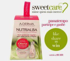 Amostras e Passatempos: Sweetcare - Passatempo A-Derma