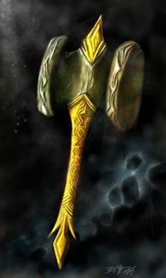 Terraria : Paladin's Hammer by BlacksmithOWY