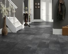 Flooring, walls, and trim