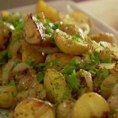 Mustard-Roasted Potatoes - Ina Garten