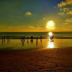 Waiting the sunset