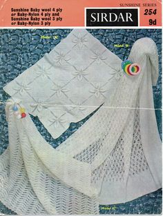 0afa34bb3add 61 Best Vintage Baby shawls   blankets knitting Knit Patterns images ...