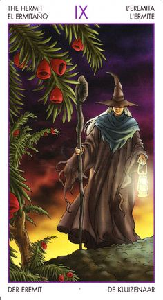 Witchy Tarot - The Hermit