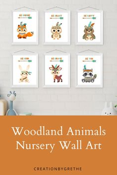 Are you looking for an easy, affordable and convenient way to decorate your child's room then you're in the right place. These tribal animals nursery prints are the perfect pieces that will add the finishing touch to your child's room or nursery. #tribalnurserywallart #woodlandanimalsprint #tribalprintablewallart Playroom Wall Decor, Nursery Wall Art, Nursery Decor, Woodland Nursery Prints, Woodland Animal Nursery, Playroom Printables, Superhero Wall Art, Tribal Animals, Boy Decor