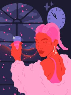 Capricorn for MTV Horoscopes, Sara Andreasson Illustration Design Graphique, Art Et Illustration, Gothenburg, Exploration, Sketch Inspiration, Art Design, Art Inspo, Vector Art, Illustrators