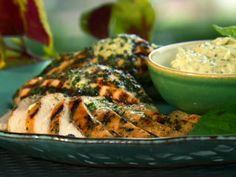 Basil Grilled Chicken from FoodNetwork.com