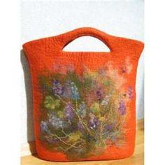 -needle felted bag
