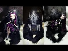 How to make a Raven Queen Evil Throne [EVER AFTER HIGH]
