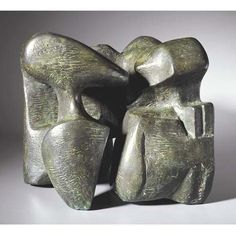 Henry Moore - Works in Public - Working Model for Stone Memorial 1961 (LH 491a)