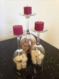 "Wine cork centerpiece www.LiquorList.com ""The Marketplace for Adults with Taste!"" @LiquorListcom   #LiquorList.com"
