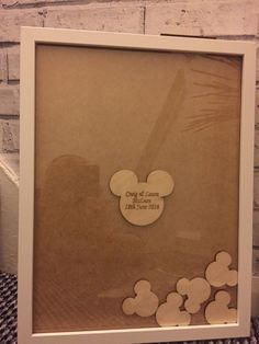 Mickey minnie mouse disney drop top guestbook package heart slot top guest book 100 x tokens