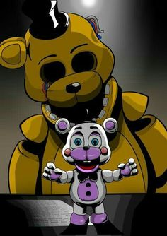 Fnaf Golden Freddy, Freddy S, Animatronic Fnaf, Fnaf Wallpapers, Fnaf Sl, Imagenes My Little Pony, Fnaf Characters, Scary Art, Fnaf Drawings