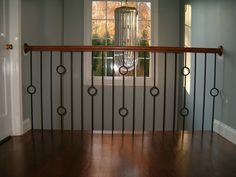 circle iron baluster - Google Search