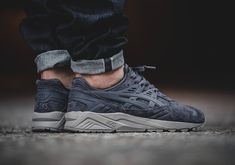 Tonal Suede ASICS GEL-Kayano Options Continue With Concrete Grey #thatdope #sneakers #luxury #dope #fashion #trending