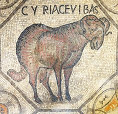 """Teodoriana-excavated Mosaics of the """"Second Crypt"""" at the Patriarchal Basilica & Cathedral St. Early Christian, Christian Art, Mosaic Animals, Historical Artifacts, Italian Art, Ancient Rome, Roman Empire, Mosaic Art, Middle Ages"""