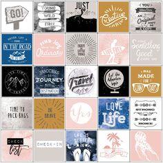 PLANNER STICKERS -  My Prima Planner Stickers - Travel