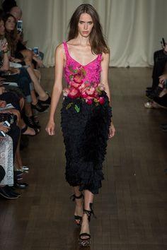 London @London Fashion Week Day 2 Marchesa Spring/Summer 2015  Ready-To-Wear 13 September 2014