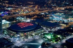 Houston Toyota center:    The Houston Toyota center is an indoor sports domain. It was named after the Japanese car manufacturer, Toyota. This sports arena is the home of the Aeros of the American Hockey League and the Houston Rockets of the NBA.