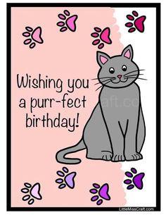 Purr-fect Birthday!