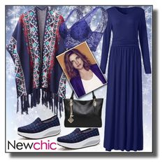 """NEWCHIC-19"" by dzemila-c ❤ liked on Polyvore featuring newchic"
