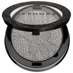 This chic collection features variations on the classic gray shadow.  #Sephora #eyeshadow #eyemakeup