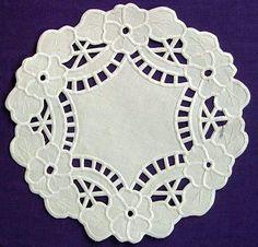 (1195) Gallery.ru / Фото #3 - Embroidery richelieu - herbs - Google Search