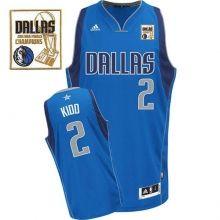 2011 NBA Champions Dallas Mavericks 2 Jason Kidd Light Blue Swingman Jersey Wholesale Cheap