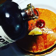 Dreamy is Noble Maple Syruped hot cakes on a Sunday