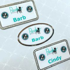 Bling, Dome, and Puppies!!All of our favorite things in one picture! Design yours now @ https://www.namebadge.com/blingbadges #nametag #nametags #namebadges #blingbadge #bling #blingnametags #namebadge #namebadgesinc #getonenow #checkusout www.NameBadge.com