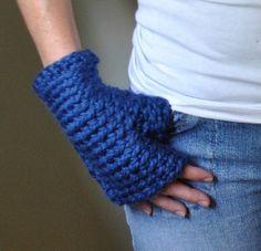 Fingerless Glove Crochet by DottieQ