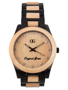 Original Grain Women's Maple... Kyle has this watch with darjer wood. I think I just might need one, too.