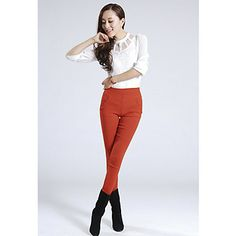 Women's Colorful Tapered Pants – USD $ 14.99