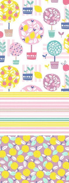 wendy kendall designs – freelance surface pattern designer » lemon trees