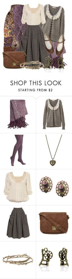 """""""Cozy Briar Rose"""" by larkspurlane ❤ liked on Polyvore featuring FOSSIL, Miss Selfridge, 1928, Ashish, Nica, Alkemie, mori, disneybound and morikei"""
