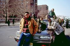 """On set of """"New Jersey Drive"""". Spike Lee production, Newark, New Jersey, Fade To Black, Black Men, Juice Movie, Great Movies To Watch, Gangster Movies, Film Watch, Spike Lee, Movies Showing, New Jersey"""