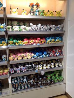 Pokemon Photos from Tokyo - Pokemon plush dolls at Pokemon Center Tokyo