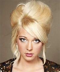 Salon Hairstyle: Formal Updo Long Straight Hairstyle