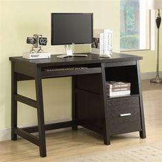 Monarch Specialties I 7038 Computer Desk with Storage Drawer