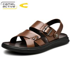 Clarks Sandals, Shoes Sandals, African Men Fashion, Mens Fashion, Mens Slippers, Huaraches, Leather Men, Leather Sandals, Casual Shoes