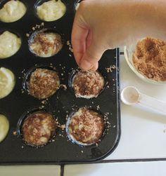 ... Mini Pancake Muffin Dunkers (maple bacon cinnamon sugar, chocolate