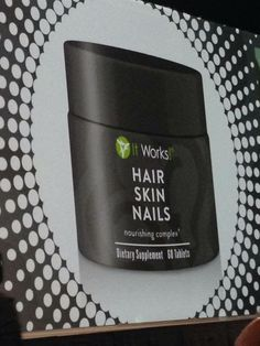 New product!!!!!!Hair, skin, nails......Boosts your natural collagen and keratin production. Supports the bodies defenses against free radical damage. Moisturizers while enhancing skins elasticity and flexibility. Promotes healthy cell growth, strength and shine. Http://metimebodywraps.myitworks.com
