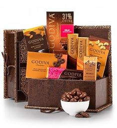 Deluxe Box of Chocolates for Mom: Chocolate & Sweet Baskets - Indulge her with rich, delicious confections.  #BestMothersDayEver