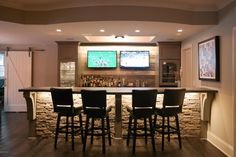 FAVORITE BAR ever. Mine will look like this. #DIYHomeDecorLights