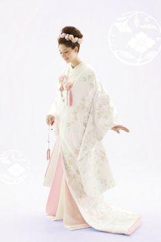 japanese bridal dress/traditional wedding dress